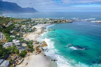 Beautiful beaches at Clifton , Cape Town